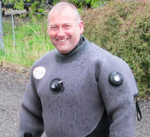Simon Hotchkin (Hotch), Stellar Divers, PADI Dive School, Lincoln