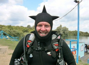 Chris (Seasick) Houghton, Stellar Divers, PADI Scuba School, Lincoln