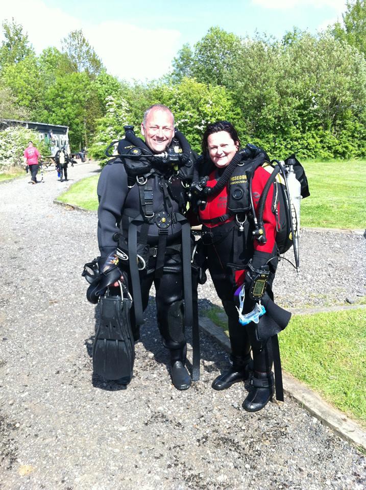 PADI Rebreather try dive, stellar divers, scuba, lincoln, lincolnshire