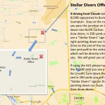 Stellar Divers Office, PADI 5 Star Dive Centre, Lincoln