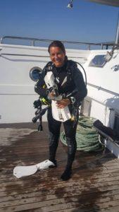 Rachel, Stellar Divers, PADI