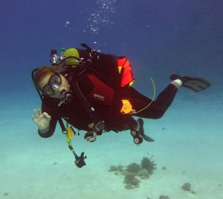 Hayley May PADI Master Scuba Diver