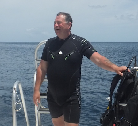 Stellar Divers, Lincoln Scuba Diving School & Club - Mick May