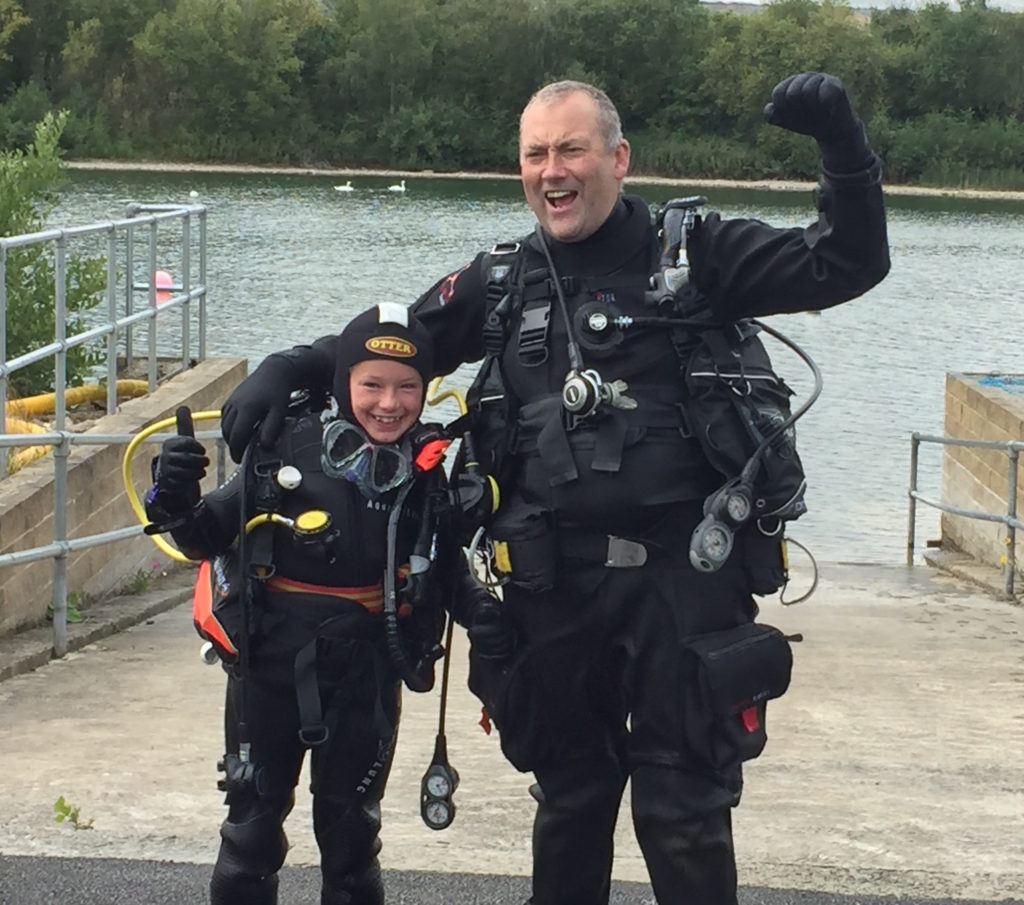 PADI, Scuba, Lincoln, Open Water