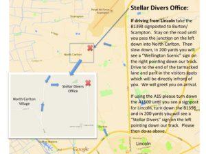 Stellar Divers Office, PADI Scuba School Lincoln
