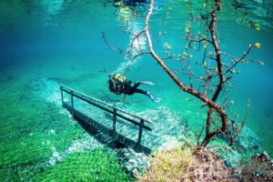 Grünersee lake
